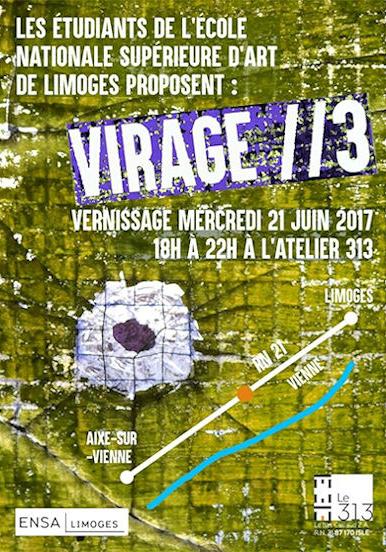Exposition Virage // 3 à Limoges